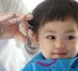 赤ちゃんの髪の毛を使って作る『胎毛筆』を初めてのカットの記念に