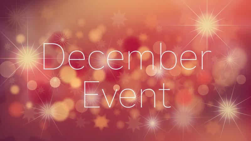 December 12月のイベント